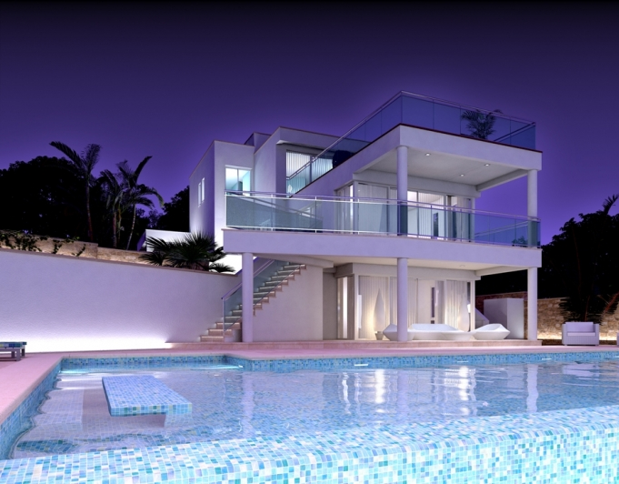 FantastIc Front LIne 4 Bed Luxury VIlla - a most sought after locatIon - MoraIra, Spain