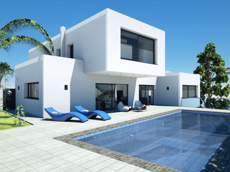 Chance to Have a 4 Bed VIlla BuIlt on a ChoIce of Four Plots 500m from MoraIra, Spain