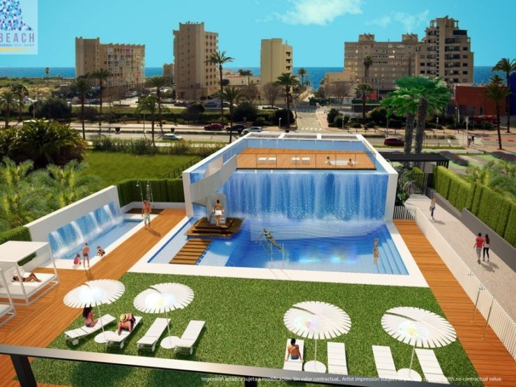 Brand New Project of 2 Bed 2 Bath Luxury Apartments – Calpe