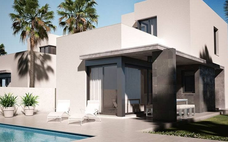 Brand New 3 Bed Villa only 200m from the Beach in Denia