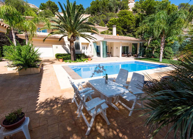 Luxury 4 Bed VIlla WIth Sea VIews near Altea set In a FantastIc LocatIon, Spain