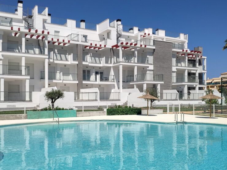 Brand New Apartments 200 metres from the beach and only 4 KM from Denia town Centre