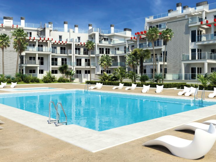 Luxury 2 Bedroom and 3 bedroom apartments 6 min walk to beach and 5km to the centre of Denia