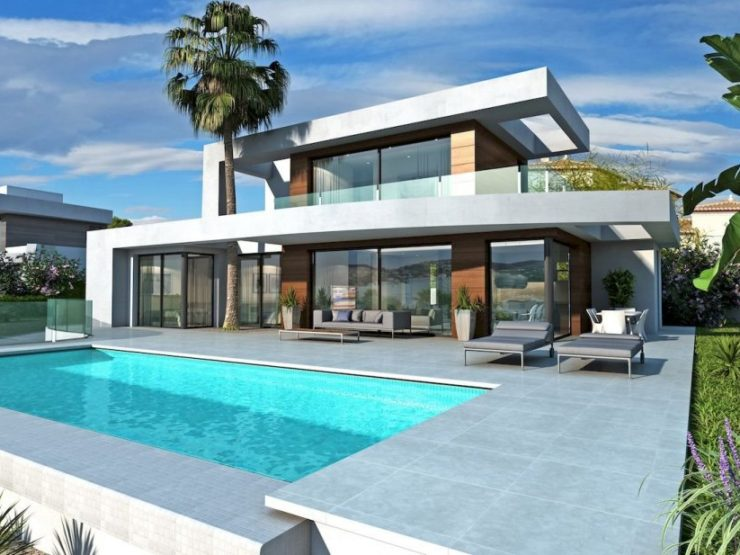 New ConstructIon : Modern VIlla In MoraIra - 685.000, Spain