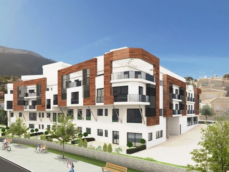 39 New 2 & 3 Bed Apartments With Rooftop Swimming Pool & Parking