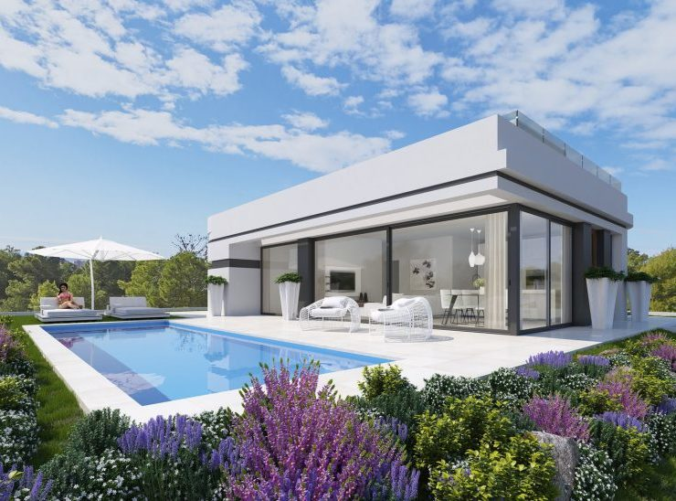 10 Brand New 3 Bed, 2 Bath VIllas In Polop Near FInestrat wIth Sea & MountaIn VIews,Spain