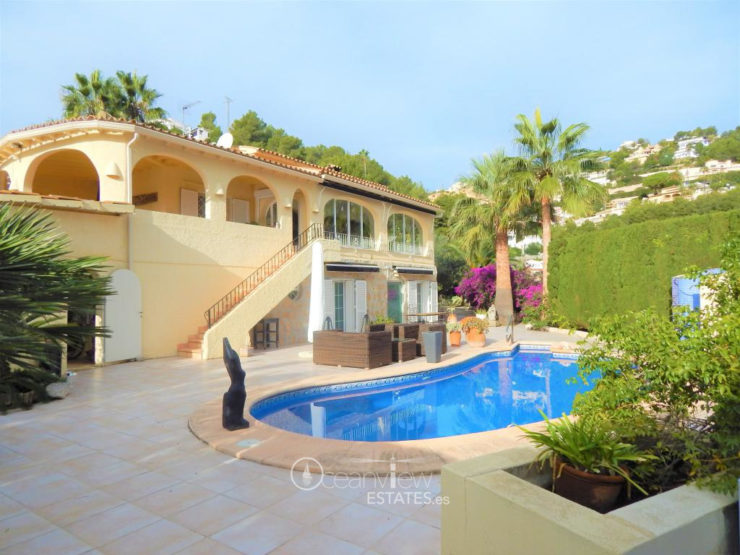 Private . Villa. Sea view. Moraira