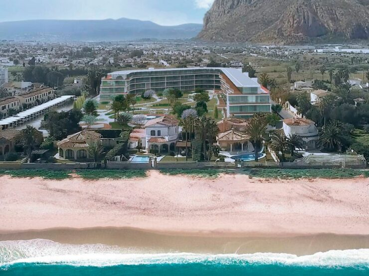 1 and 2 bedroom Apartments on the Beach in Denia starting from 158,800 Euros