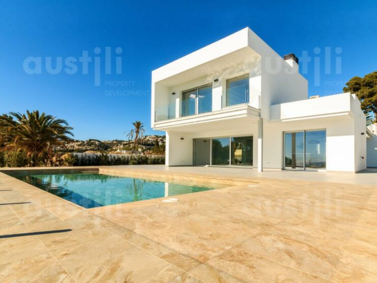 Magnificent High Quality Modern 4 Bed Villa With Amazing Sea Views Moraira