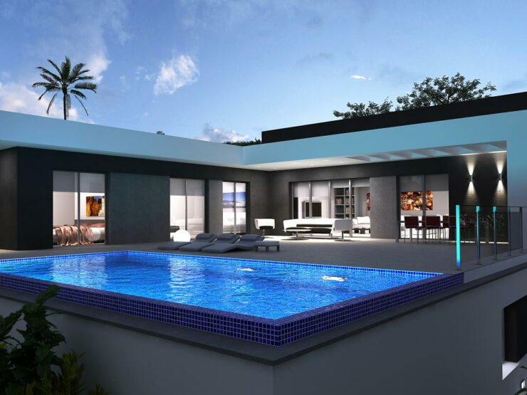 Brand New Modern 3 Bed Villa Walking Distance to Moraira