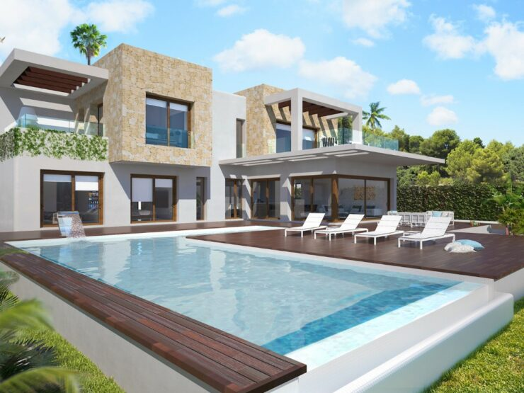 New 4 Bedroom Villa in Javea Las Laderas