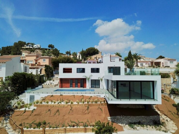 Brand New 4 Bed Villa In Moraira With Mountain Views