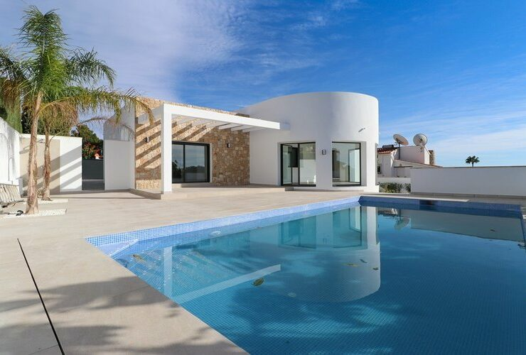 Contemporary Design 3 Bed Villa on the Benissa Costa