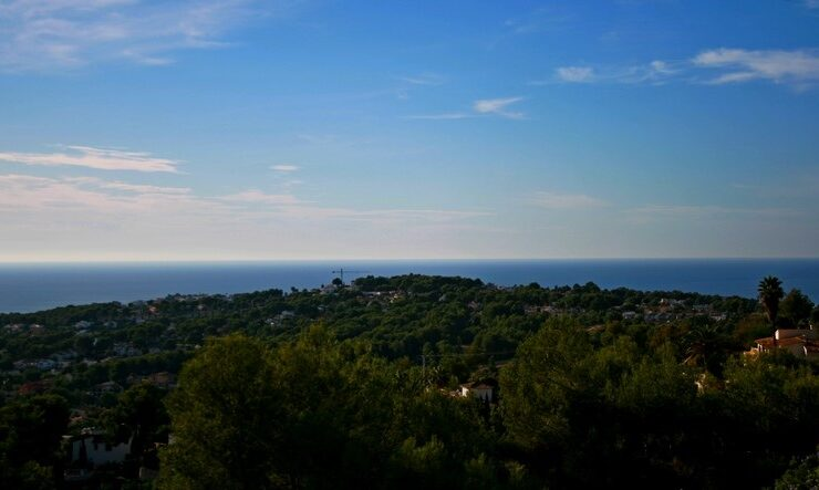 Plot for sale Sea views Moraira