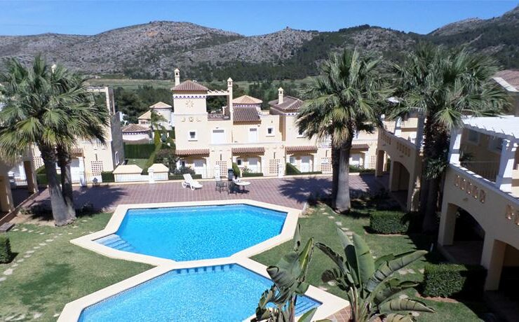 Lovely 2 Bed Apartment on the 2nd Floor On La Sella Golf