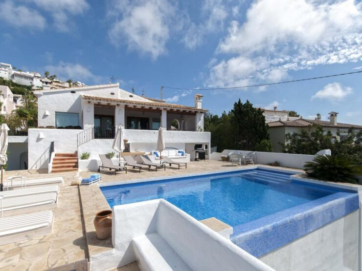 Uniquely Restored 5 Bed Traditional Spanish Style Villa With Sea Views in Moraira