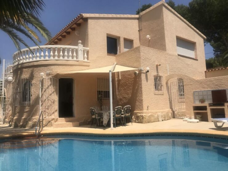 Lovely 3 Bed Villa In Moraira Close To Golf