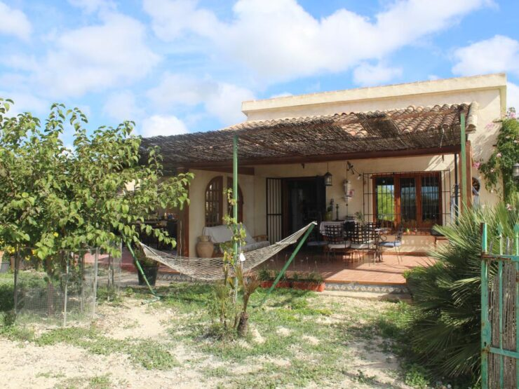 2 Bed Finca on a Private 5000 sqm Plot With Fantastic Views