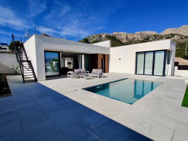 Fantastic Modern New Build 3 Bed Villas in Polop