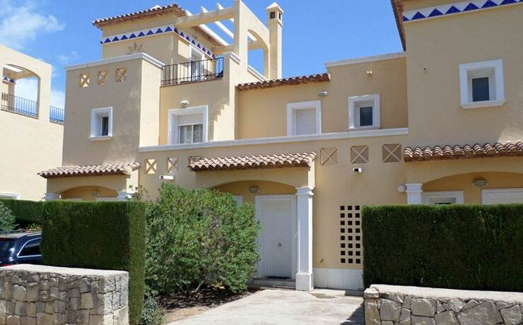 2 bedroom 2 bathrrom townhouse La Sella Golf