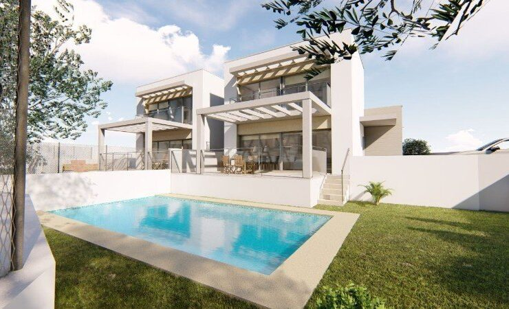New Build Semi-detached 3 Bed Villas in Moraira