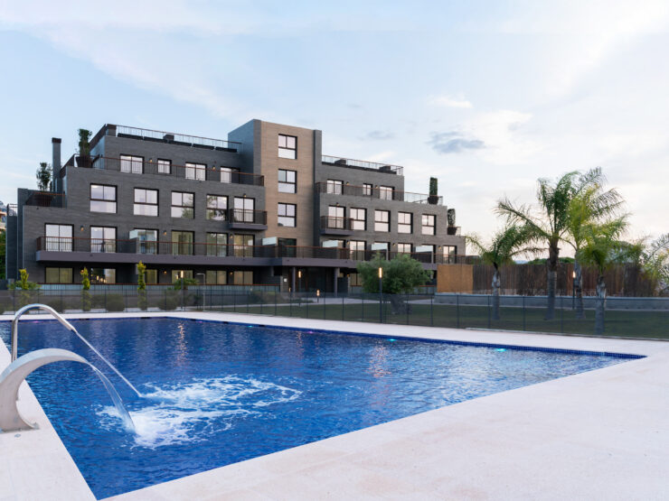 studio, 1 and 2 bedroom apartments close to the beach in Denia