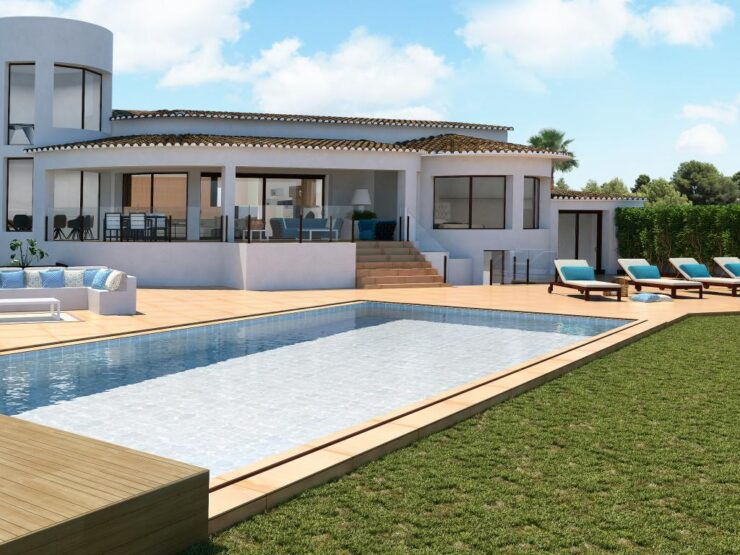 Magnificent New Built Front Line Villa in Javea