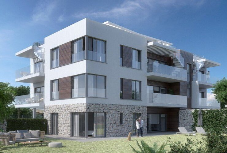 Brand New 3 Bed Penthouse Walking Distance to the Port in Javea