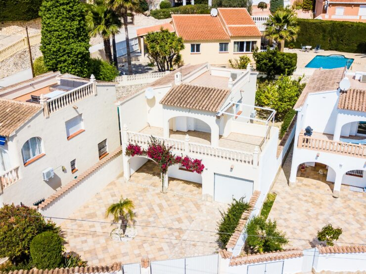 3 bedroom 2 bathroom villa close to the town of Moraira