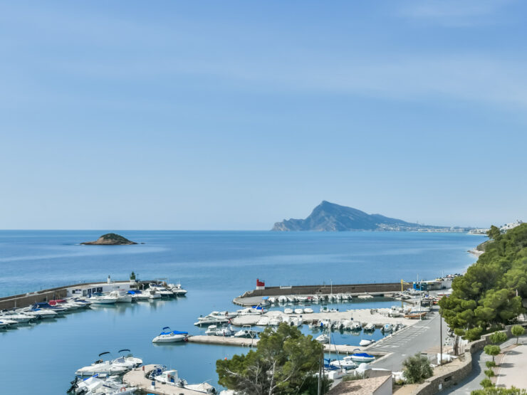 Three Bedroom Duplex Penthouse in Altea