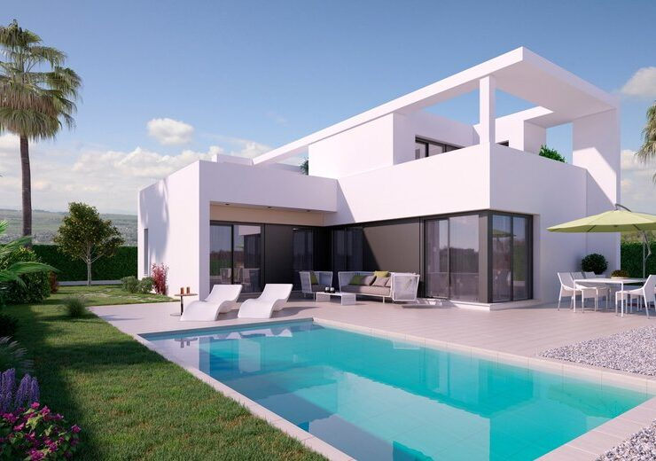 Brand New 3 Bed Villa With Private Pool in Benijofar