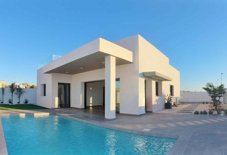 Brand new 3 Bed Villa with Private pool in BENIJOFER
