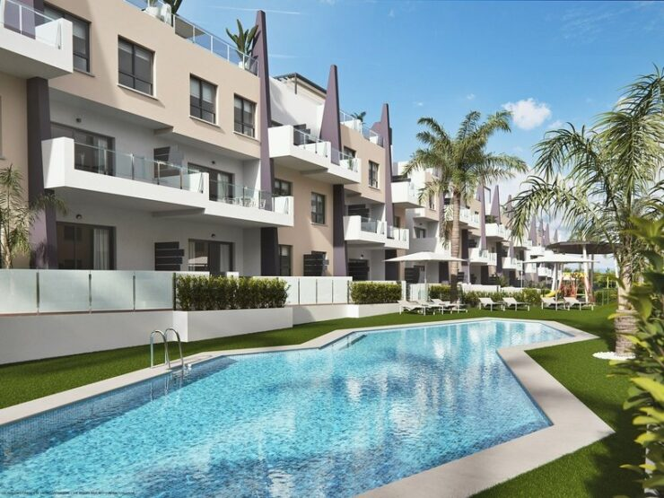 Brand New 2 and 3 Bed Apartments Close to the Beach Near Mil Palmeras