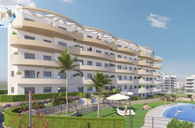 Luxury 2 Bed Brand New Apartments Next to the Sea In Arenales Del Sol