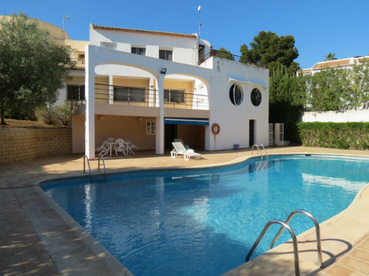 1 Bed Apartment Next to The Sea and All Amenities in Moraira