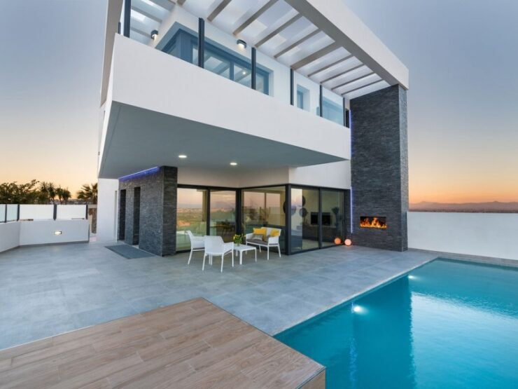 Brand New 3 Bed Villa With Pool In Rojales