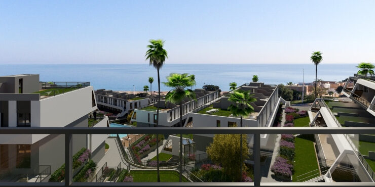 Brand New 2 Bed 2 Bath Apartments With Sea Views in Gran Alacant