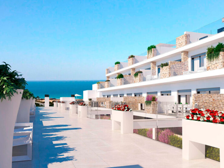 3 Bed Luxury Apartments With Sea Views in Gran Alacant