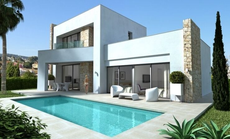 Brand New 3 Bed Villa Close To All Amenities in Calpe