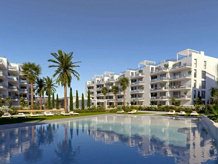 New 2 bedroom 2 bathroom apartment Walking distance to Denia Marina