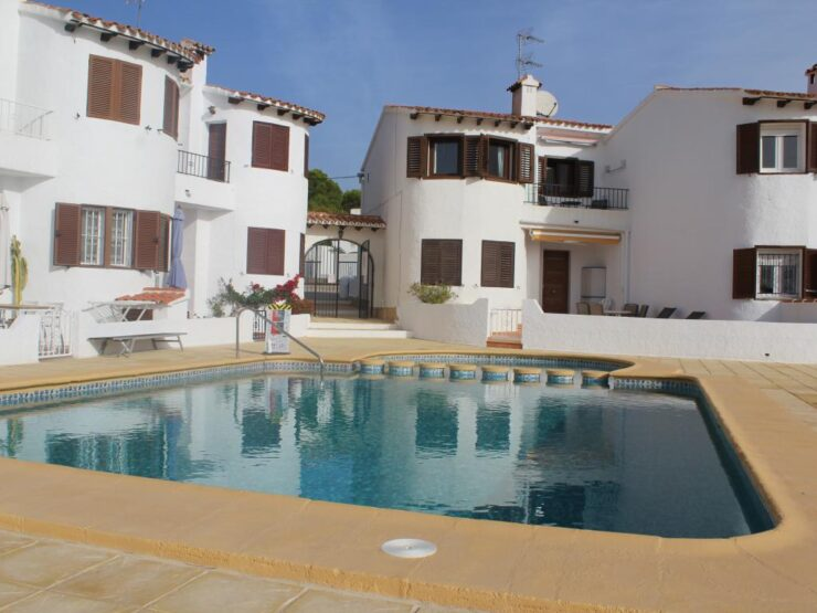 Fully reformed 1 Bed Apartment with Sea Views Only 150M from The Sea in Moraira