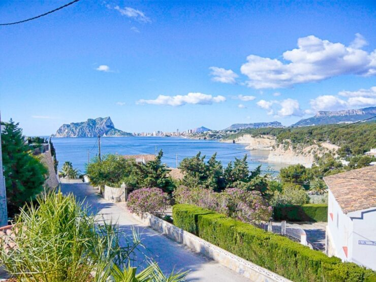 4 Bed Villa With Amazing Sea Views Could Also Be a Project In Punta Estrella Near Moraira