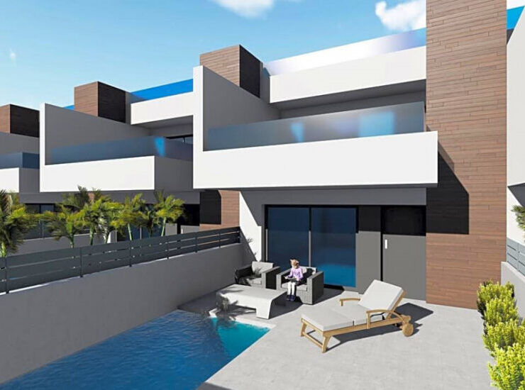Brand New 3 Bed Duplex Townhouse New Development of Only 12 in Beniofar