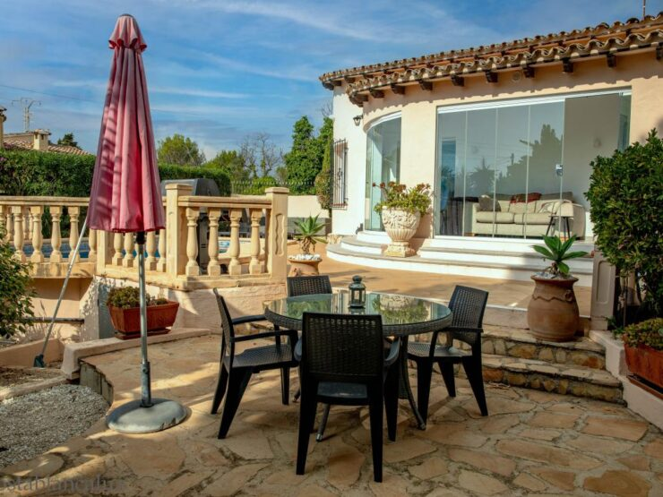 Fully Reformed 3 Bed Villa In The Sol Park Area of Moraira