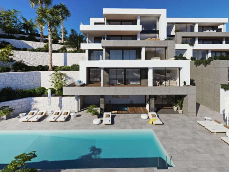 Brand New Luxury Apartments on The Golf Development of La Sella Near Denia