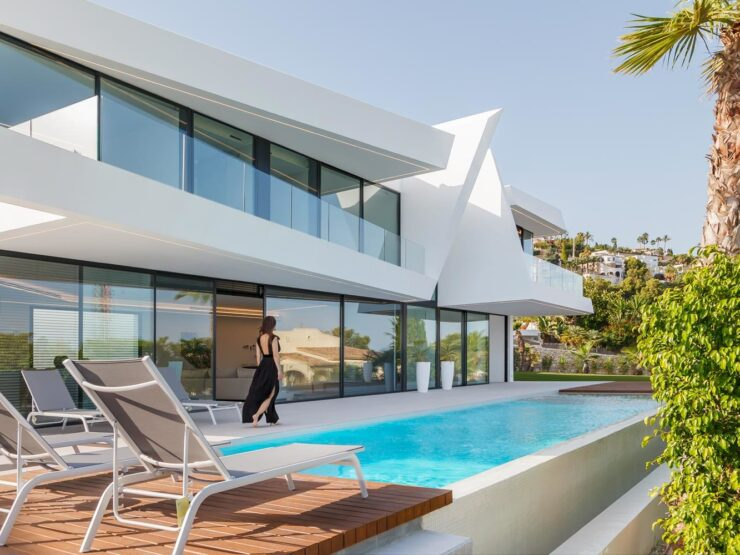 Fantastic New Modern 4 Bed Villa In Moraira