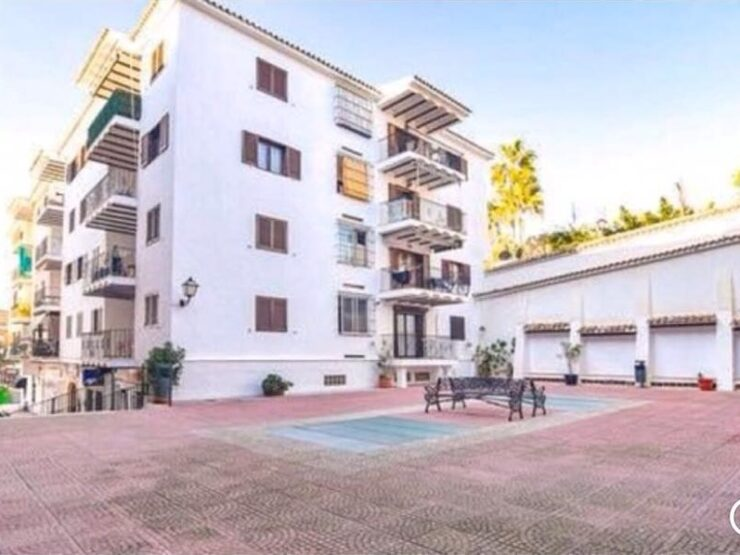 2 bedroom apartment in Moraira 4th floor with Lift