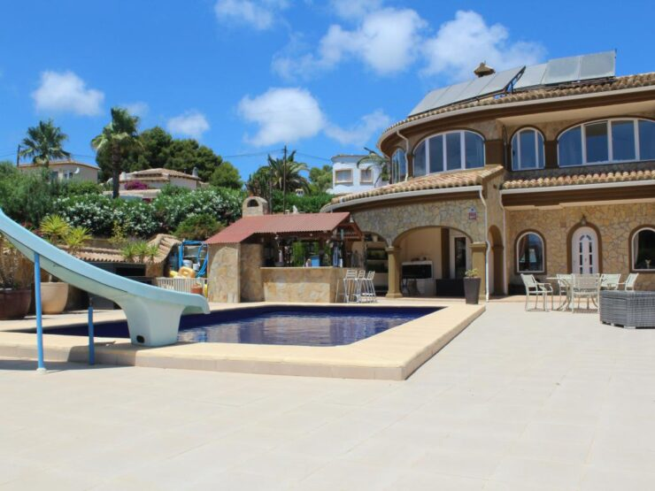 Rare Opportunity To Purchase A Unique 7 Bed Villa In Moraira With Many Investment Options
