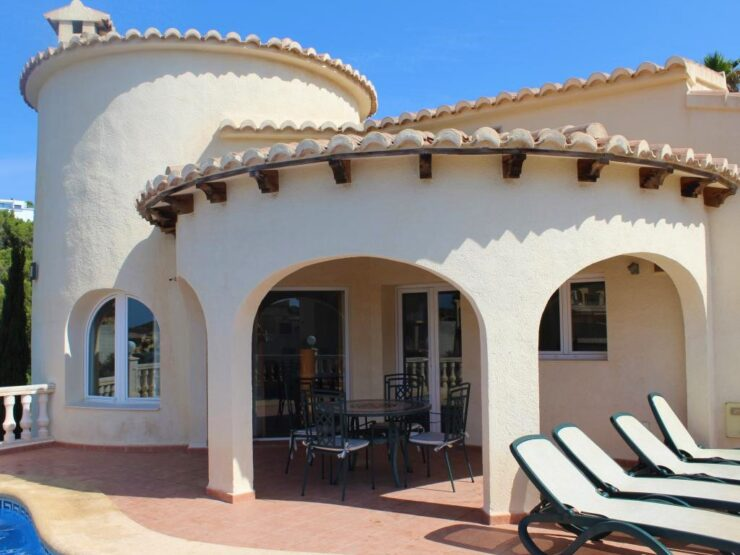 Lovely 3 Bed 2 Bath Villa On One Level With Sea Views In Cumbre Del Sol
